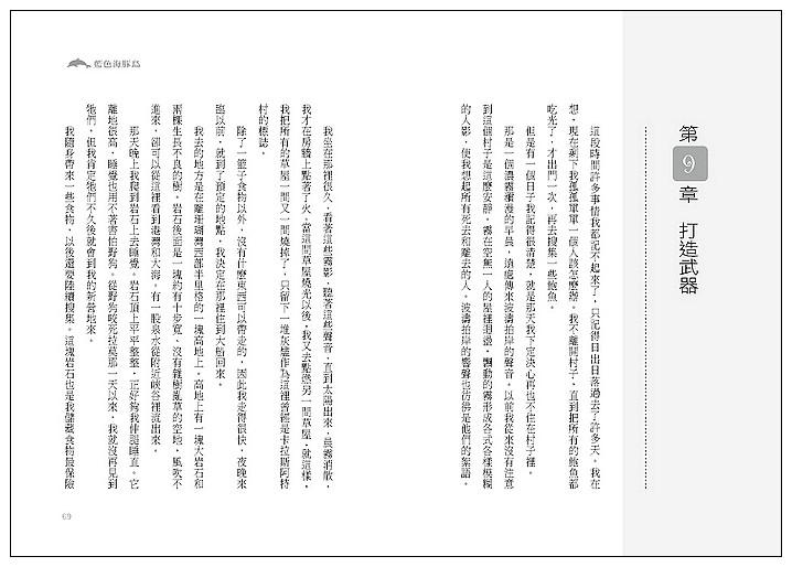 內頁放大:藍色海豚島 (79折)