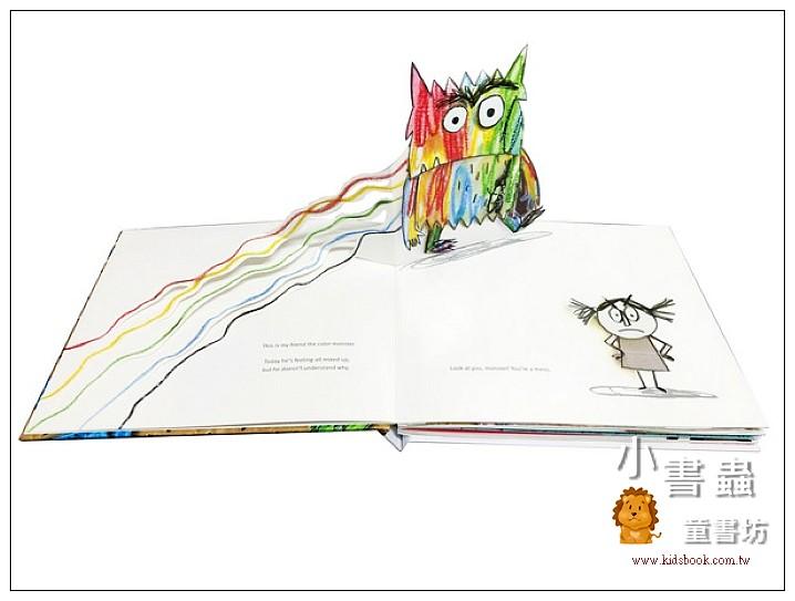 內頁放大:The Color Monster (85折)