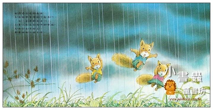 內頁放大:森林裡的小松鼠:西北雨來了 (79折)