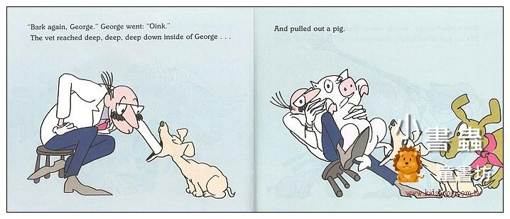 內頁放大:Bark, George(精裝書+CD)