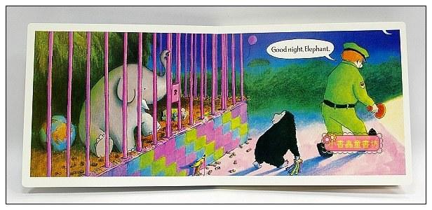 內頁放大:Good Night, Gorilla(晚安,大猩猩)(大開本硬頁書+CD)現貨:1