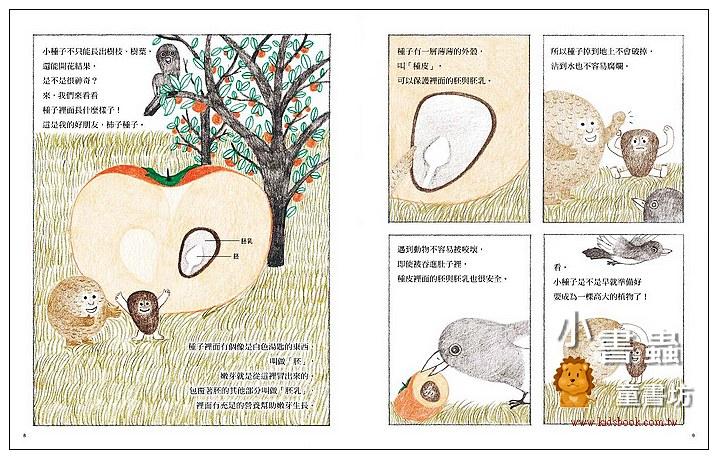 內頁放大:你是大便還是種子? (79折)