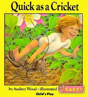 Quick as a Cricket(我和蟋蟀一樣快)(平裝書)