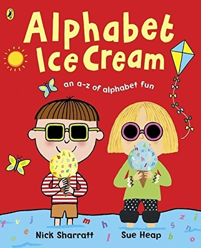 內頁放大:ALPHABET ICE CREAM(單CD)