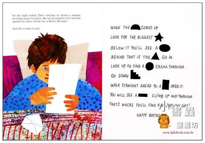 內頁放大:The Secret Birthday Message(神秘的生日禮物)(平裝)