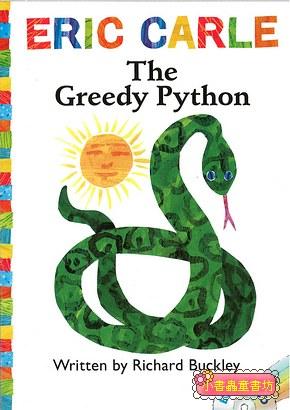 THE GREEDY PYTHON(平裝書+CD)