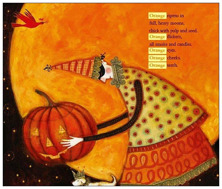內頁放大:紅色在樹梢唱歌: 彩色的一年 (中英對照 +雙語CD)