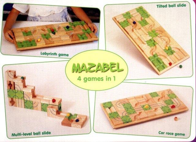 內頁放大:創意滑道積木盤