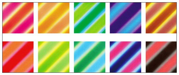 內頁放大:(單面)日本漸層色紙:線條雙彩
