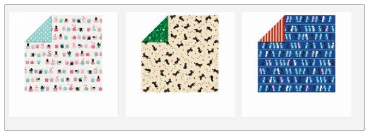 內頁放大:日本色紙(花式)(雙面):貓咪(3柄30枚)
