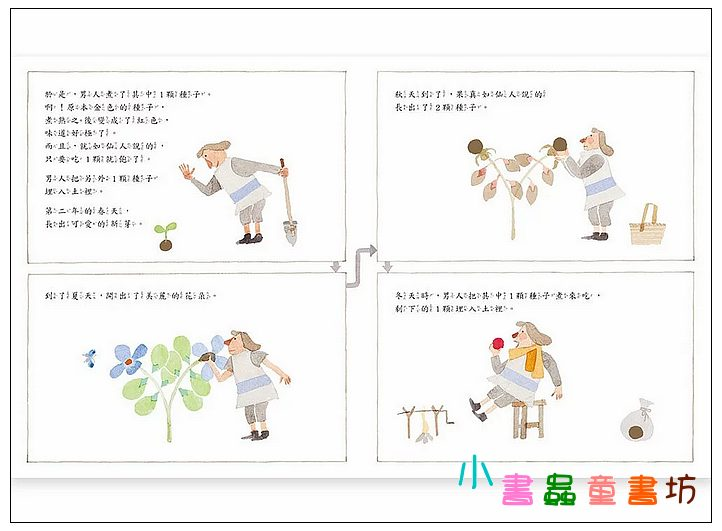內頁放大:奇妙的種子 (第2版) <親近植物繪本> (85折)