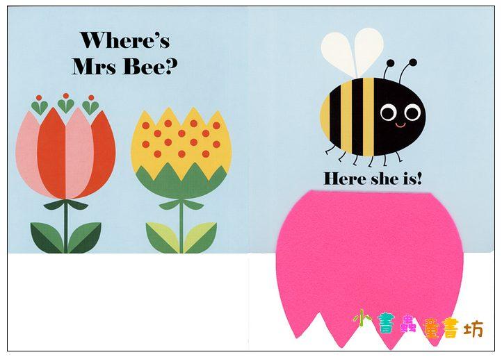 內頁放大:WHERE,S MRS LADYBIRD? 翻翻書+小鏡子