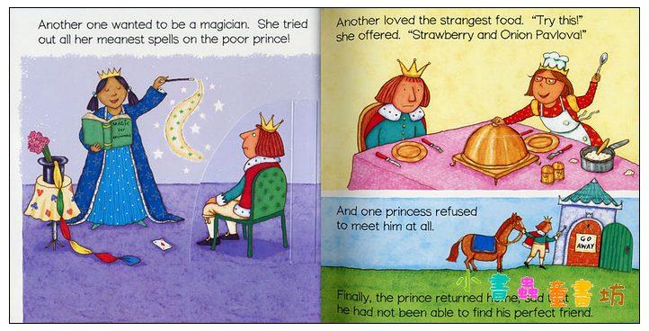 內頁放大:The Princess and the Pea (1平裝+1CD) 現貨:1