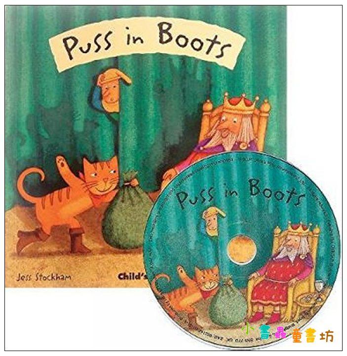 內頁放大:Puss in Boots (1平裝+1CD)