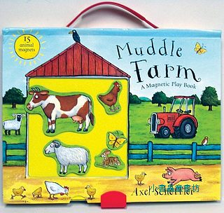 磁鐵遊戲書:Muddle Farm A Magnetic Play Book