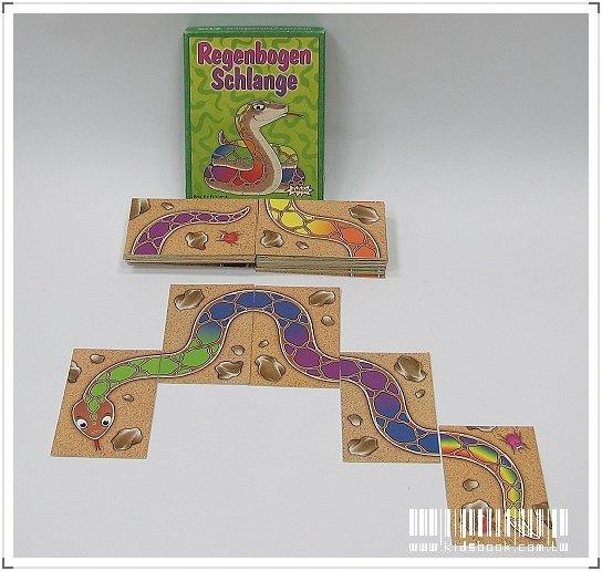 內頁放大:德國家庭益智遊戲:彩虹蛇(德國版)