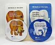 快樂讀唱繪本1:Brown bear、Polor bear 2書2CD(艾瑞.卡爾)