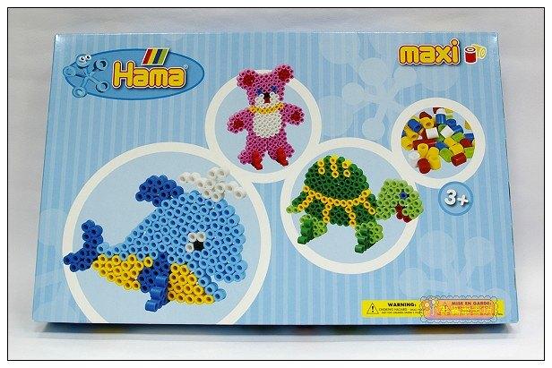 內頁放大:大拼豆創作組合:烏龜、海豚、泰迪熊