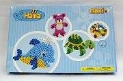 大拼豆創作組合:烏龜、海豚、泰迪熊