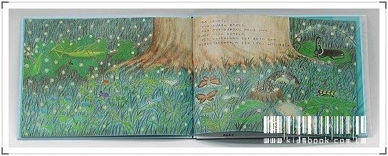 內頁放大:柳樹村昆蟲繪本2:螢火蟲旅館(日文版,附中文翻譯)