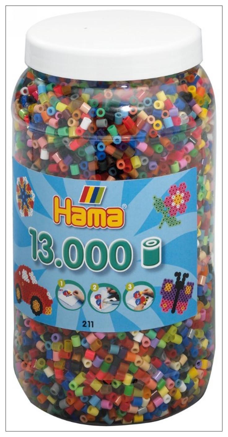內頁放大:小拼豆補充桶─13000顆(48色)