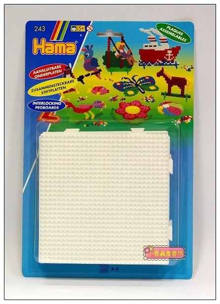 內頁放大:拼拼豆豆:小拼豆方型模板4合1
