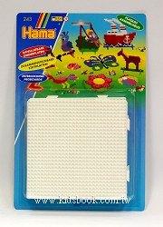 拼拼豆豆:小拼豆方型模板4合1