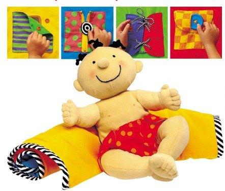內頁放大:學習陪伴布偶:聰明寶寶和活動毯