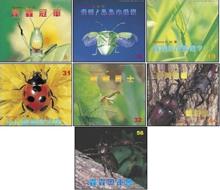 內頁放大:有趣昆蟲 7合1:大科學
