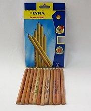 德國LYRA─粗三角彩色鉛筆─12色(17.5cm)