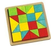 創意幾何拼圖1 基本篇(正方形、三角形組合變化)