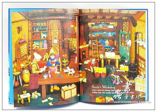 內頁放大:看起來很像 寫真尋寶繪本3:LOOK- ALIKES Christmas