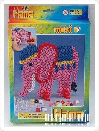 內頁放大:大拼豆創作-大象