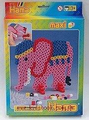 大拼豆創作-大象