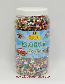 小拼豆補充桶:13000顆(22色)