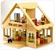 雅典雙層娃娃屋+傢俱+娃娃(可訂數量:1)