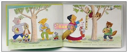 內頁放大:小鳥的家:元氣婆婆繪本8(日文版,附中文翻譯)