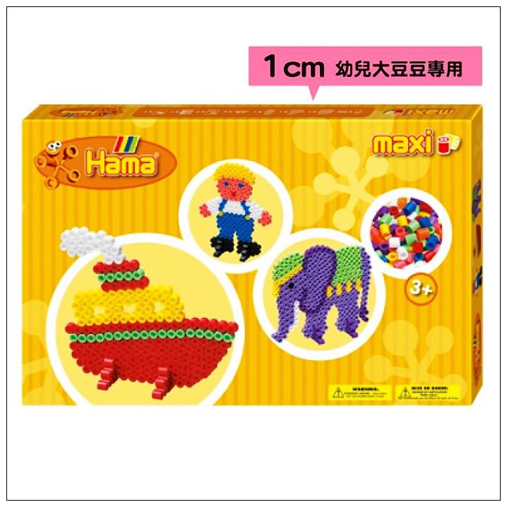 內頁放大:大豆豆創作組合:男孩、船、大象(1cm)(現貨:3)