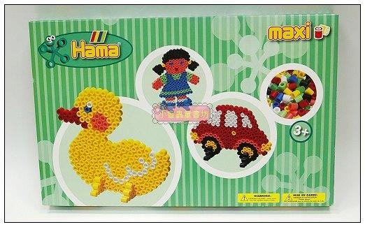 內頁放大:幼兒大豆豆創作組合:鴨子、女孩、汽車(1cm)