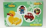 幼兒大豆豆創作組合:鴨子、女孩、汽車(1cm)
