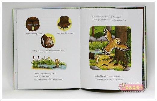 內頁放大:機智老鼠與GRUFFALO繪本:THE GRUFFALO(平裝本)