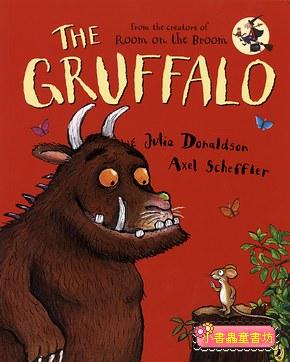 機智老鼠與GRUFFALO繪本:THE GRUFFALO(平裝本)