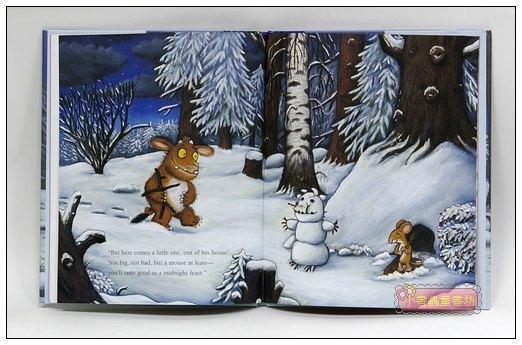 內頁放大:機智老鼠與GRUFFALO繪本:THE GRUFFALO'S CHILD( 平裝本)