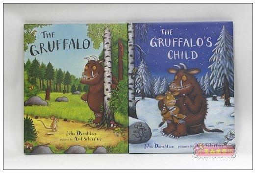 內頁放大:機智老鼠與GRUFFALO繪本 2合1