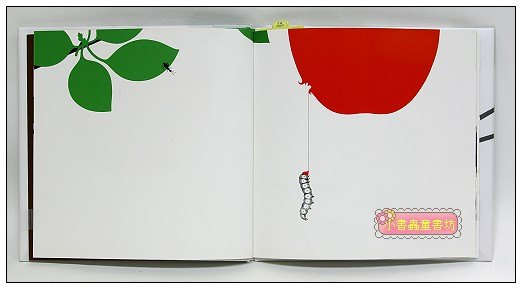 內頁放大:蘋果和蝴蝶(日文) (附中文翻譯)