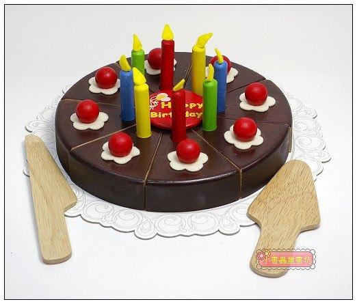 內頁放大:家家酒遊戲:巧克力蛋糕組