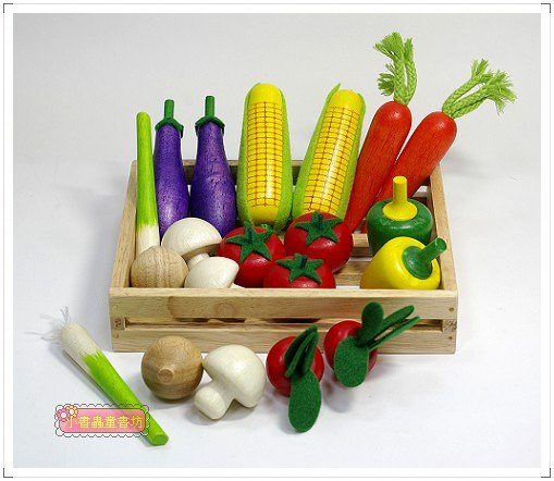 內頁放大:家家酒遊戲:綜合蔬菜組