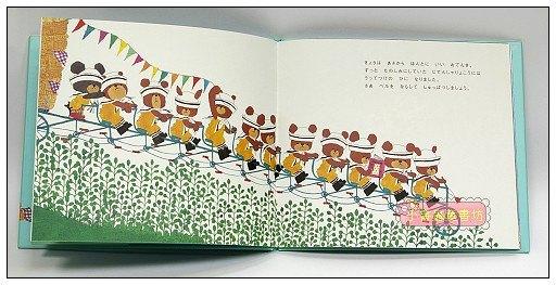 內頁放大:小熊學校3:小琪的腳踏車之旅(日文版,附中文翻譯)
