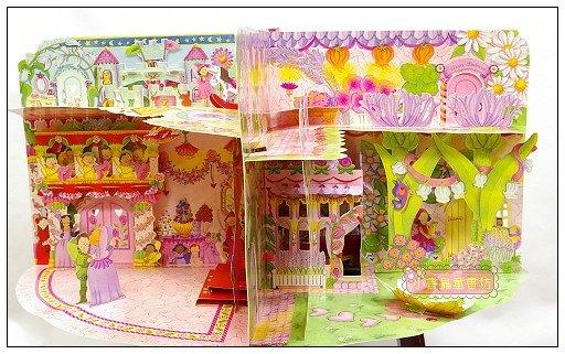內頁放大:花仙子豪華立體劇場遊戲書:My Fairy Princess Palace