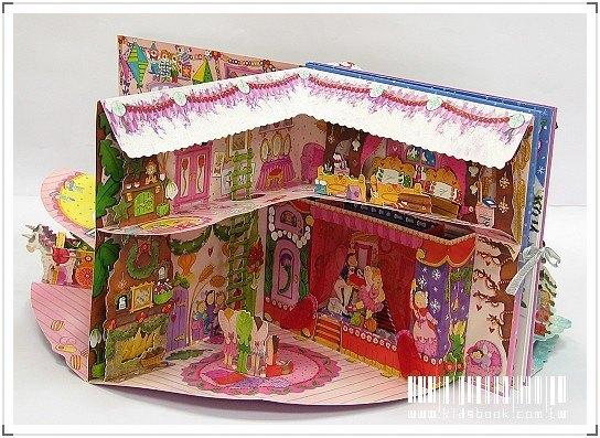 內頁放大:花仙子豪華立體劇場遊戲書2:Fairy Winter Wonderland